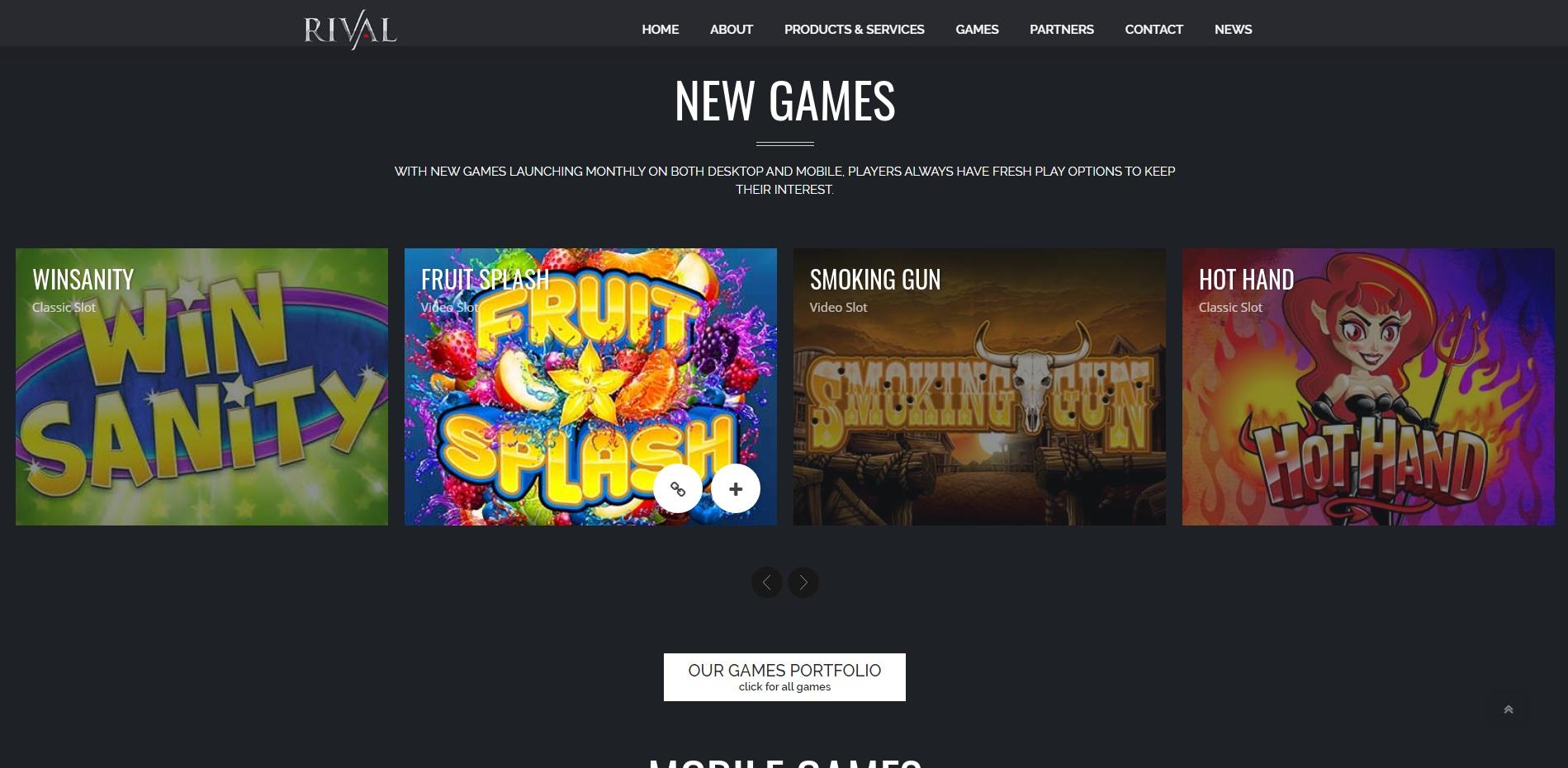 test casino rival